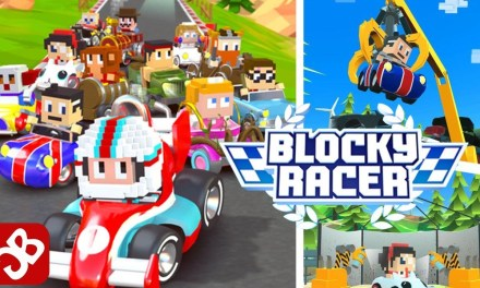 Blocky Racer – Endless Arcade Racing Ipa Games iOS Download