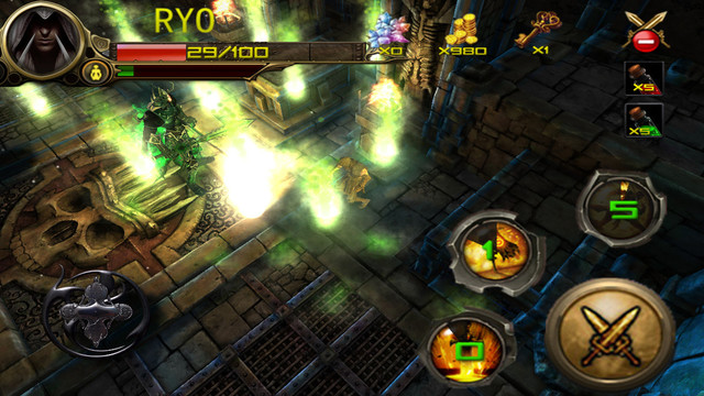 Dungeons Siege: Ninja Hunter Ipa Game iOS Download