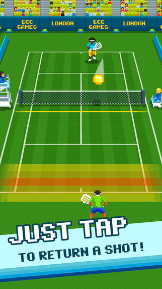 One Tap Tennis Ipa Game iOS Download