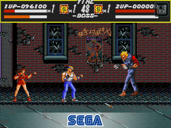 Streets of Rage Classic iOS