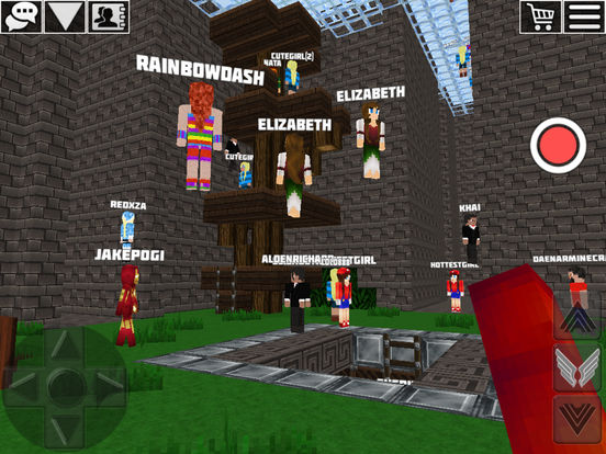 World of Cubes Survival Craft iOS