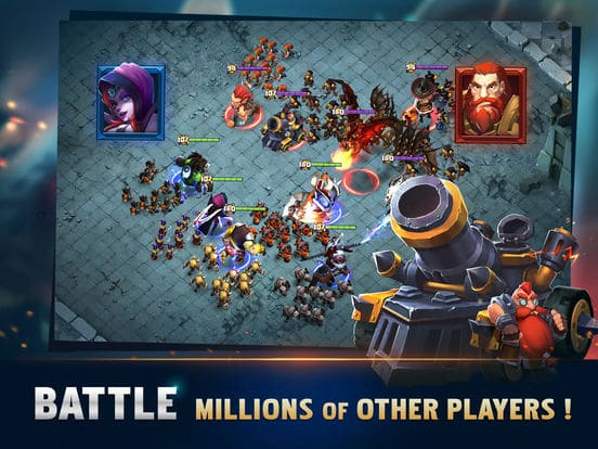 Clash of Lords 2 Guild Castle iOS