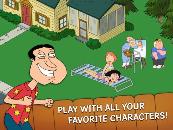 Family Guy The Quest for Stuff iOS