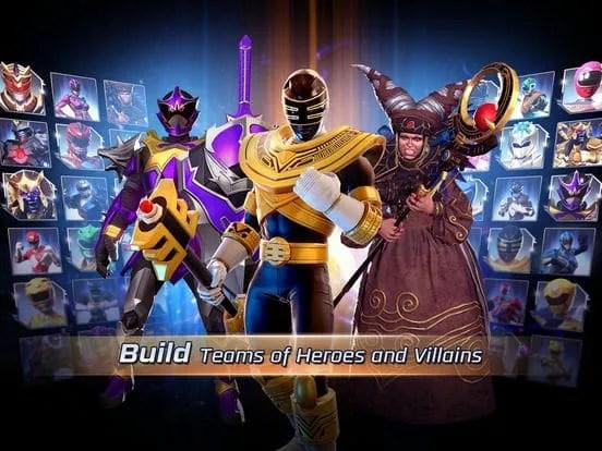 Power Rangers Legacy Wars iOS