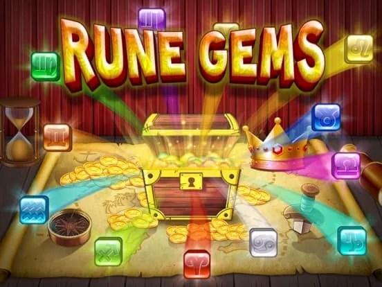 Rune Gems – 3d Solitaire Blast iOS