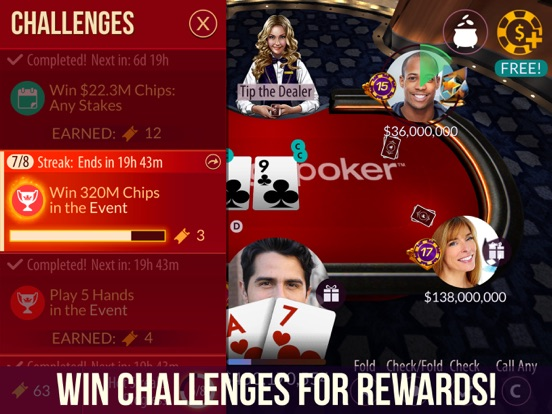 Zynga Poker - Texas Holdem iOS