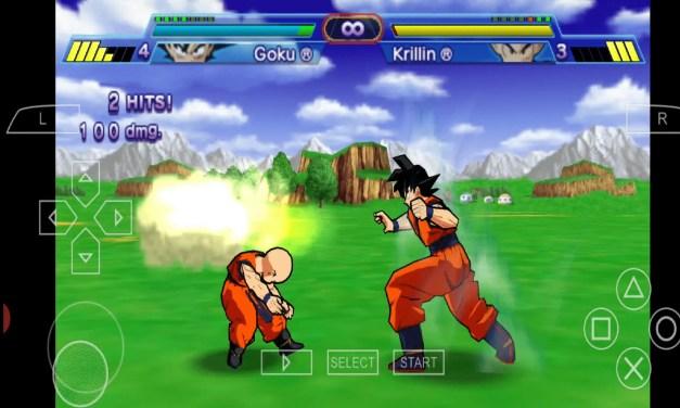 Dragon Ball Z Shin Budokai PPSSPP Download