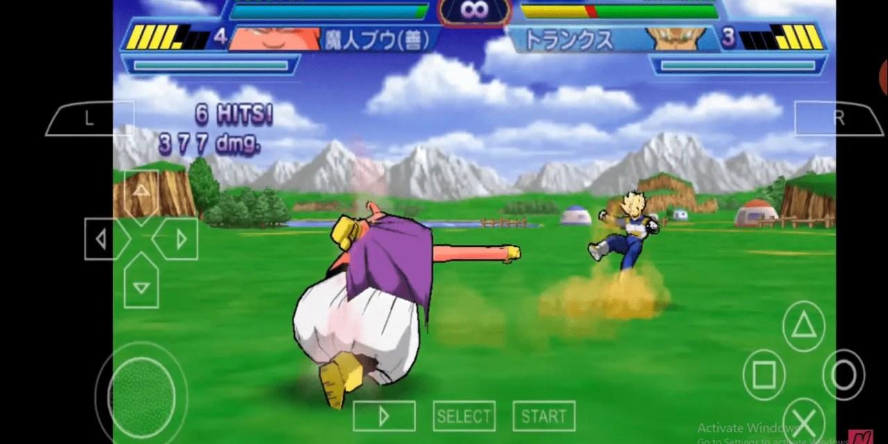 Dragon Ball Z – Shin Budokai 2 PPSSPP Download English