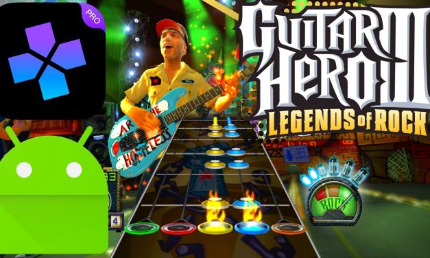 Guitar Hero III: Legends of Rock For Android (DamonPs2)