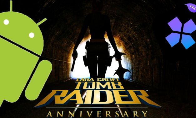 Lara Croft Tomb Raider – Anniversary For Android Using Ps2 Emulator ( Damon Ps2)