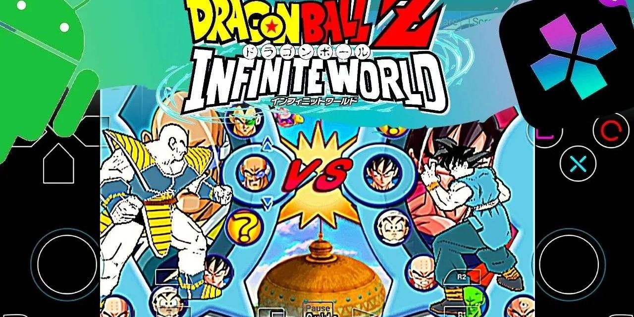 Dragon Ball Z: Infinite World APK Download Android – Damon Ps2 PRO