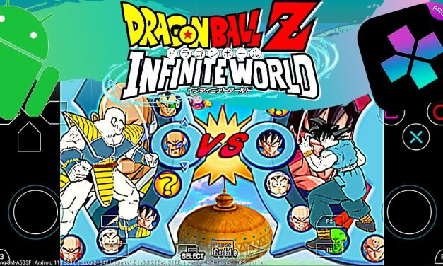 Dragon Ball Z: Infinite World APK Download Android – Damon Ps2 PRO
