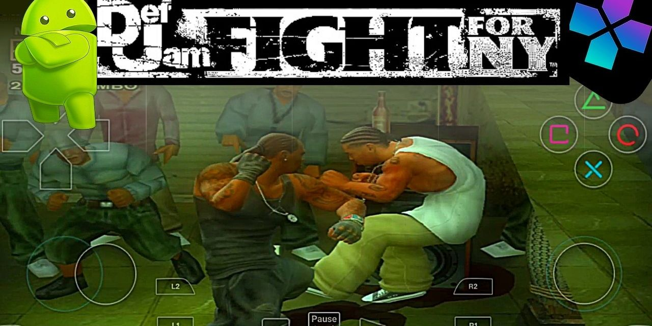 Def Jam Fight For NY PPSSPP Download For Android – Damon Ps2 PRO