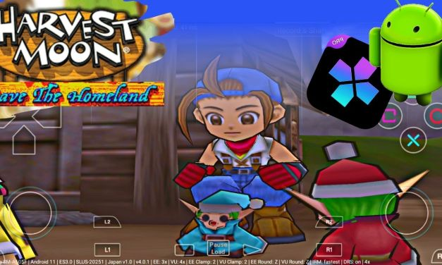 Harvest Moon Save The Homeland free download for android – Damon Ps2 Pro