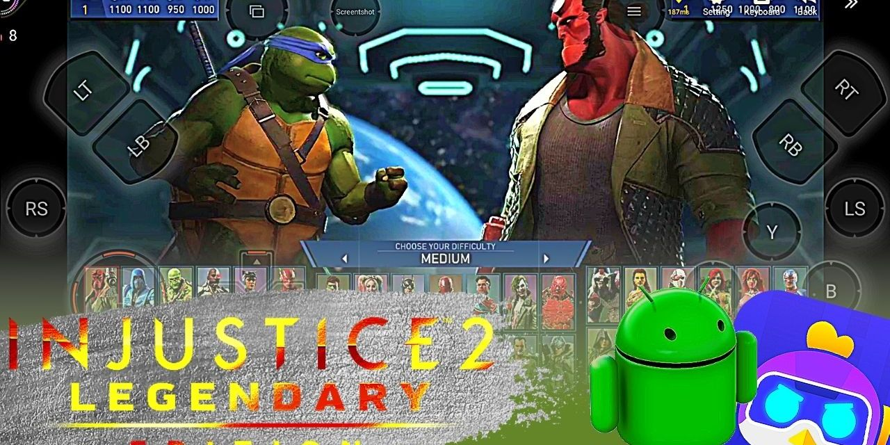 Injustice 2 Legendary Edition Android APK+Obb Download – Chikii App