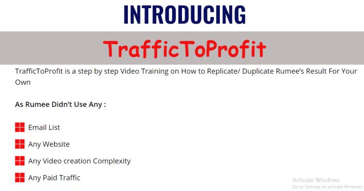 TrafficToProfit