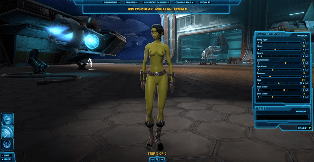 the old republic nude mod