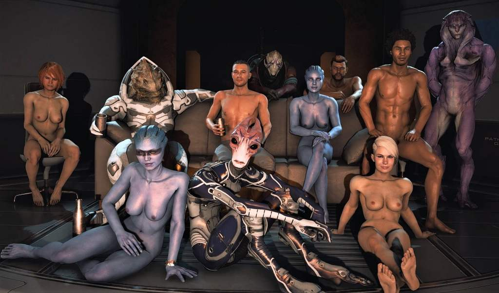 MASS EFFECT ANDROMEDA NUDE MOD download