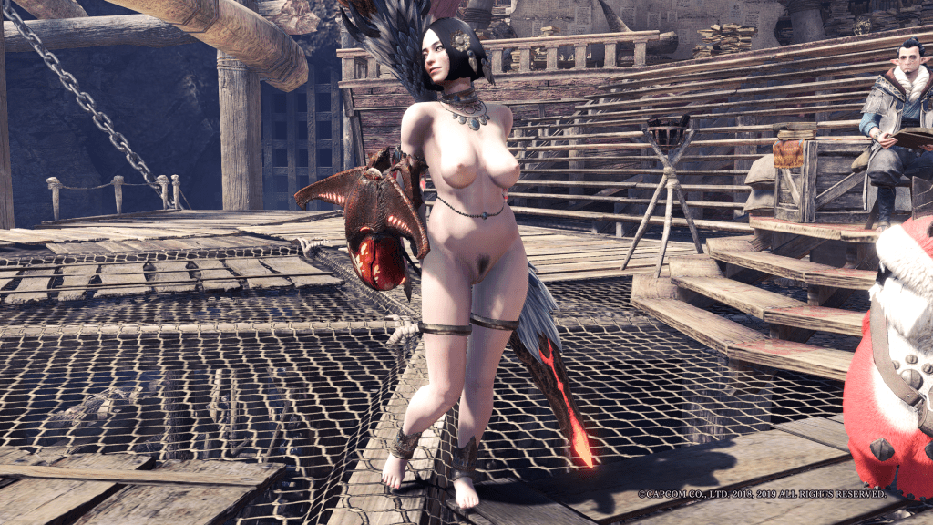 Monster Hunter World: Iceborne Nude Mod