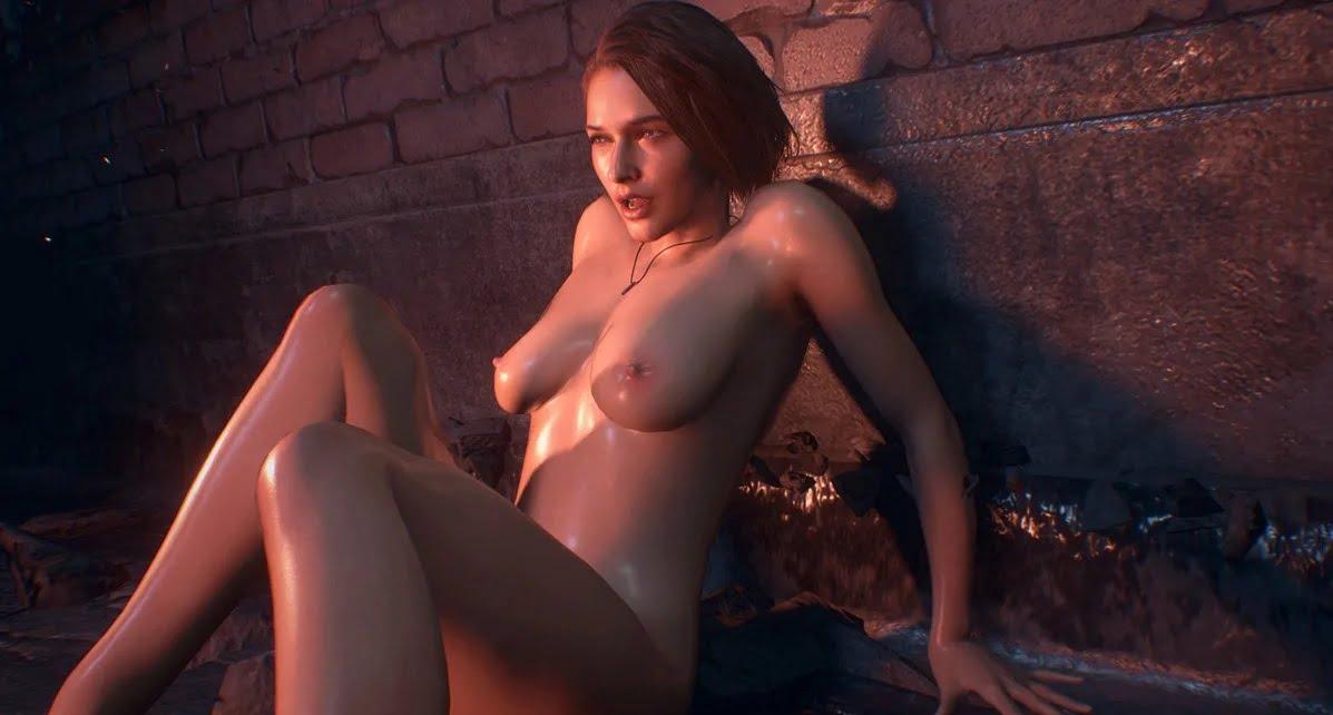 resident evil jill nude