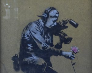 Banksy in Park City, Utah<br /> Photo by Tom Libertiny