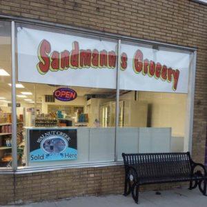 Sandman's Grocery, Harbor Beach, Michigan with Null Paradox.