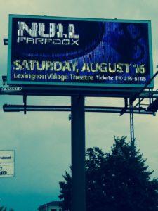 Null Paradox billboard in Port Huron, Michigan. Design by Selena Bartys