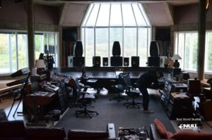 "We may need more equipment... ""The Big Room"" at Real World Studios with Null Paradox. Photography by Tom Libertiny."