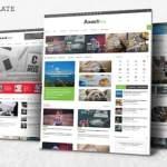 Axact Responsive Magazine Blogger Theme Free Download