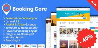 Booking Core Ultimate Booking System Nulled Free Download