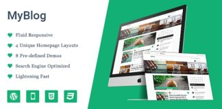 MyBlog MyThemeShop WordPress Theme