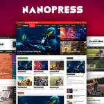Nanopress WordPress Responsive Blog and Magazine Theme