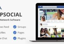 phpSocial Social Network Platform Script Nulled Download