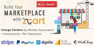 zCart Multi-Vendor eCommerce Marketplace Nulled Script Download