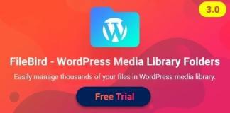 FileBird WordPress Media Library Folders Nulled Plugin