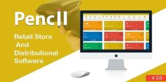 Pencil The Retail Store and Distribution Software Nulled