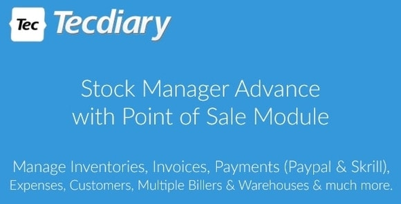 Stock Manager Advance with Point of Sale Module Nulled Script Download
