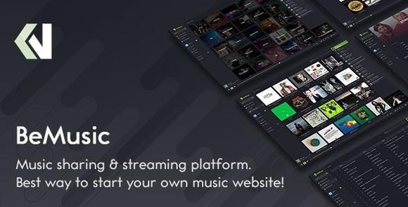 BeMusic Music Streaming Engine Nulled
