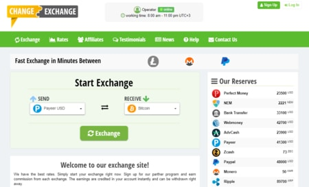 Money Exchange Script