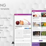 PinkTong High Speed News Magazine Blogger Template