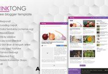 PinkTong High Speed News Magazine Blogger Template