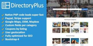 Directory Plus Business Directory Script Nulled