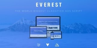 Everest PHP Classified Ads Script Nulled