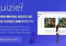 Quizier Multipurpose Viral Application Nulled