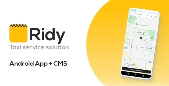Ridy Taxi Application Android Dashboard App Source Code