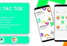 Tic Tac Toe Game with AdMob App Source