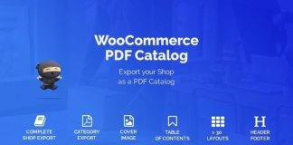 WooCommerce PDF Catalog WordPress Plugin