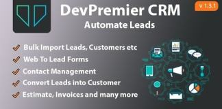 DevPremier CRM Convert Leads Into Customers Nulled
