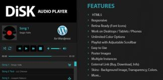 Disk Audio Player For WordPress Plugin Nulled