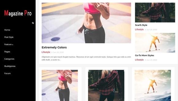 Magazine Pro Responsive Blogger Template